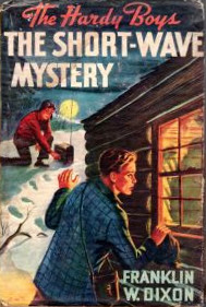 "Original 1945 Cover to ""The Short-Wave Mystery"""